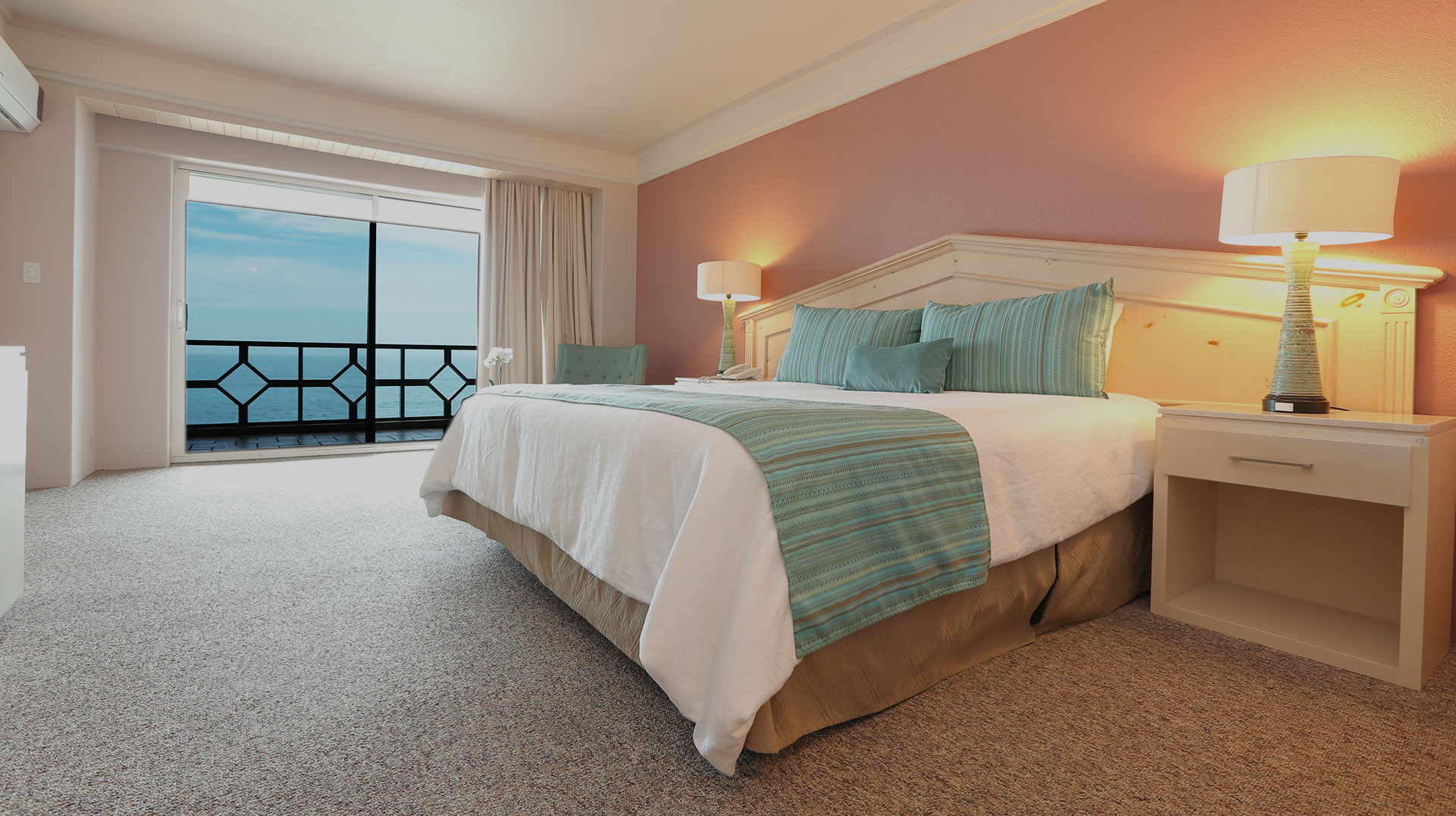 habitaciones las rosas hotel Ensenada
